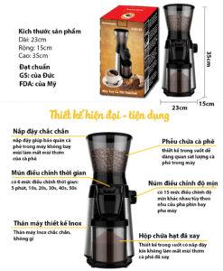 máy xay cà phê chuyên nghiệp kahchan 6