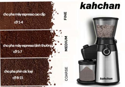 máy xay cafe chuyên nghiệp kahchan mới 5