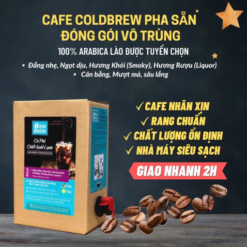 CAFE PHA SẴN DÒNG BOLD